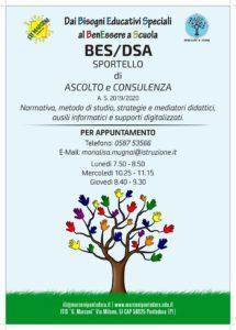 Locandina BES-DSA